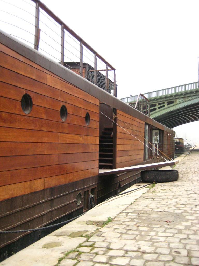 h t architecture navale refonte d une p niche freycinet en bateau logement. Black Bedroom Furniture Sets. Home Design Ideas